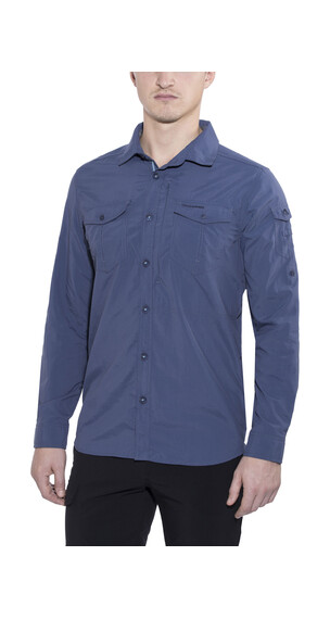 Craghoppers NosiLife Adventure Long-Sleeved Shirt Men Dusk Blue